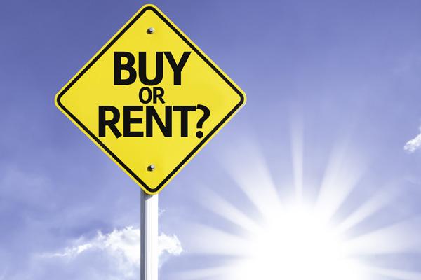 Comprar ou alugar
