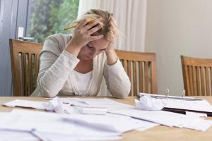 falta de planejamento financeiro