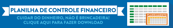 Par Mais - Anuncio - Planilha Controle Financeiro