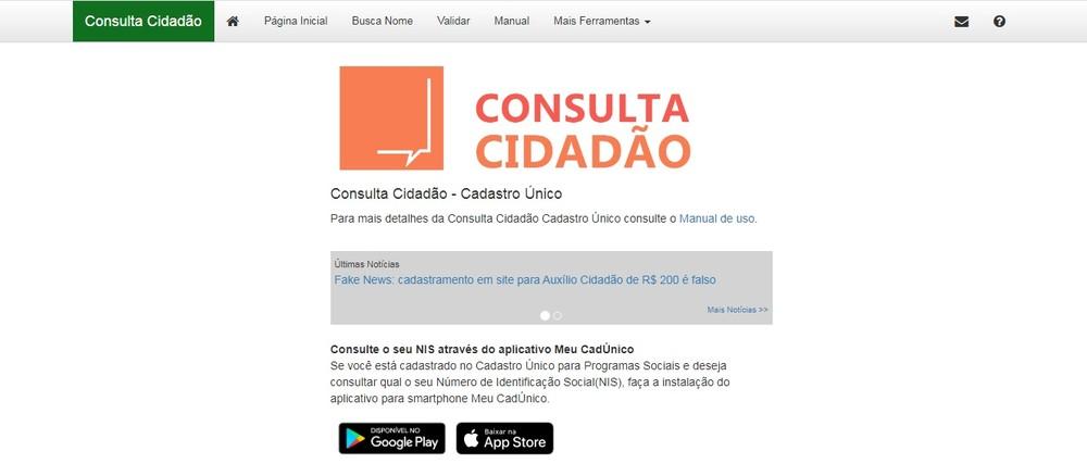 Consulta cidadão