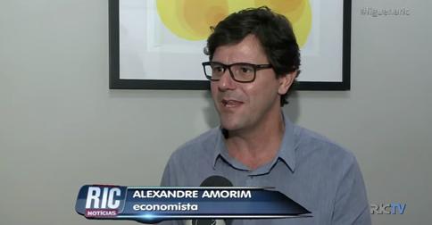 Alexandre Amorim no RIC Notícias