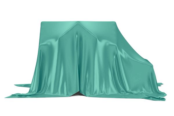 custos na compra de um imóvel - Casa coberta por um pano verde